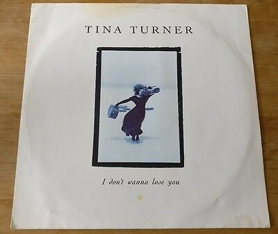 """Tina Turner 12"""" I Don't Wanna Lose You 1989 Excl 12Cl553 Uk Pressing"""