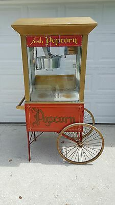 Gold Medal Commercial Model - Popcorn Machine with Cart Or you handle shipping.