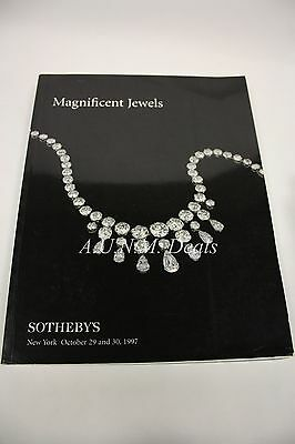 Sotheby's Magnificent Jewels New York October 29 and 30, 1997 #7035