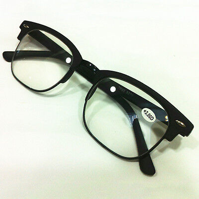 Full-Frame High Quality Reading Glasses Hot-Selling 1.0 To 4.0 Men's Retro