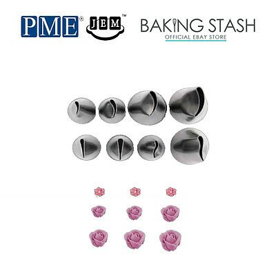 JEM PME Petal Icing Piping Tip Nozzle for Cake Decorating
