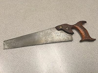 "Vintage Champion 12"" Hand Saw Open Handle"