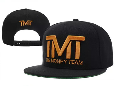 TMT The Money Team Snapback Hat Cap Mayweather TBE Boxing Mcgregor UFC Fight