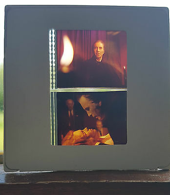 RARE ORIGINAL HAMMER HORROR DRACULA FILM CELL 35MM  x2 CHRISTOPHER LEE HOH