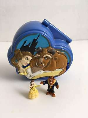 1995 Vintage Polly Pocket Disney Beauty and the Beast Playset - 100% COMPLETE