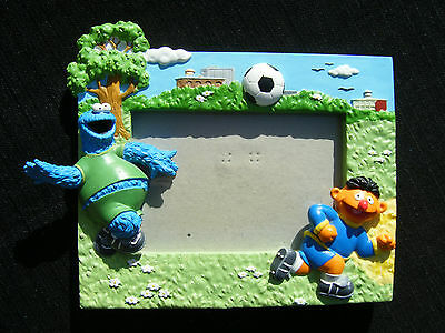 "Sesame Street Cookie Monster and Ernie Frame - Fit's 5 1/2"" x 3 1/2"" Photo"
