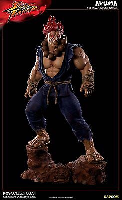 Pop Culture Shock Akuma 1/3 Regular Statue Street Fighter PCS