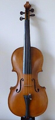 Antique  4/4  Violin From Deceased Restorer's Estate Stash