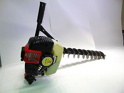Auger Drill 1.5 HP Central Machinery 95346 Gas Powered Hole Digger Drill