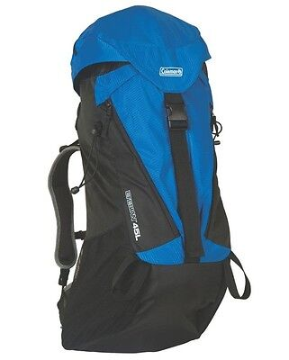 * NEW * Coleman Etesian Backpack - Blue - Hiking - Camping - Backpacking - 45L