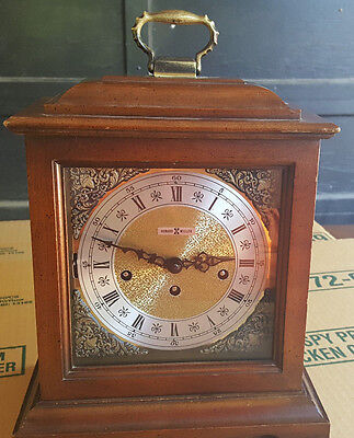 Howard Miller - Franz Hermle Triple Chime Mantle Clock 8-Day Key Wind,