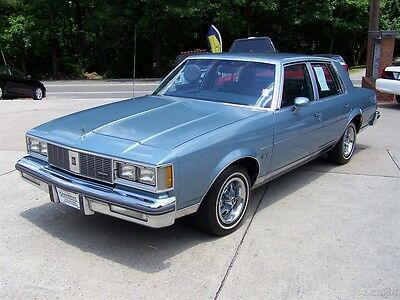 1985 Oldsmobile Cutlass SUPREME 5.0L 307 4BBL V8 F41 SPORT SUSPENSION WOW ANOTHER 38K SURVIVOR ORG PAINT LOADED OLDS SEDAN 4DR NOT A 2DR COUPE OR 442