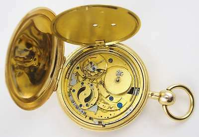 Bicentennial Repeater Minute Pocket Watch, C.1815 Rare Unusual
