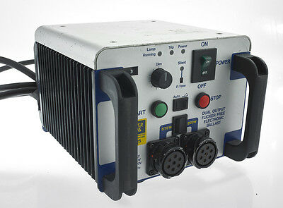 Powergems electronic HMI ballast 1.2k or 575w 100hz flicker free Arri MSR 1200w
