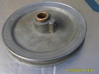 "Aluminium Vee Pulley. 5"" Outside diameter. Various bore sizes."