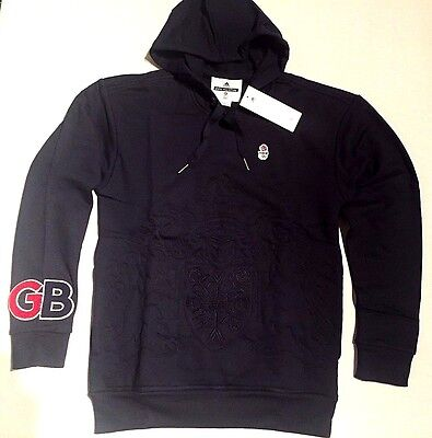 RIO 2016 Olympic TEAM GB Rugby Hoodie Embroided Pro Athlete Issue Unisex BNWT XS