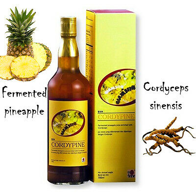 DXN cordypine 700 ml with cordyeps sinensis and fermented pineapple
