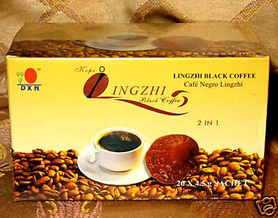 5 BOXES of DXN Lingzhi black coffee with ganoderma