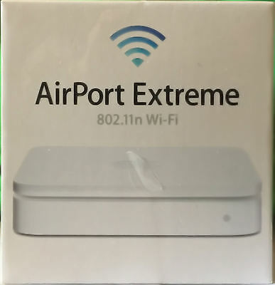 New Apple AirPort Extreme Dual -Band Wi-Fi Wireless-N Station MD031LL/A A1408 5P