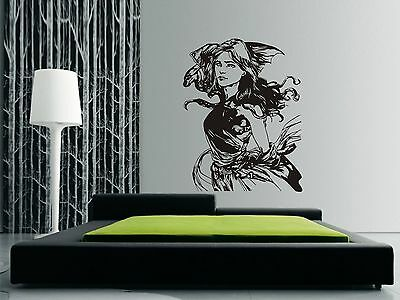 GAME OF THRONES Wall Art Sticker, Decal DAENERYS & DRAGON on shoulder ~ modern