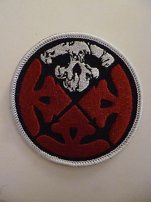 LIFE OF AGONY logo round patch-very limited edition!-new-last ones available