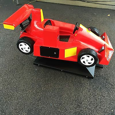 kiddie ride F1 Car Really Eye Catching Good Condition