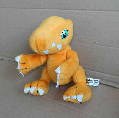 Small Digimon - Play by Play Agumon Plush/Soft Toy Vintage - 9""