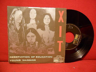 1973 XIT Reservation Of Education 7/45 NMINT Motown PORTUGAL RARE UNIQUE SLEEVE