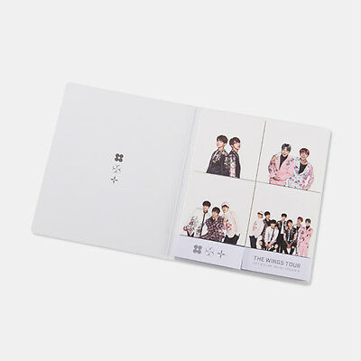 BTS The Wings Tour Official Sticky Note Set