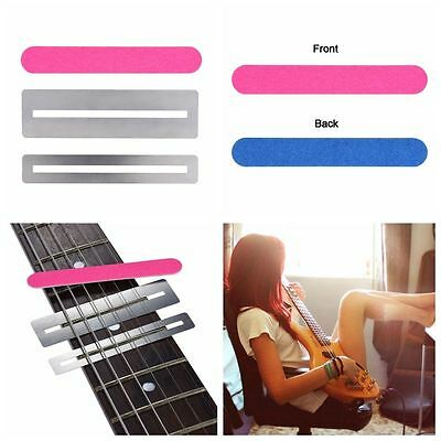 3 Pcs Guitar Cleaning Polish Tool Musical Instrument Fretwire File Sanding