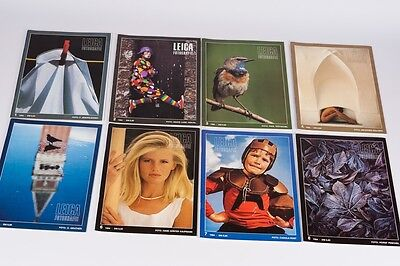 Leica Fotografie  complete year 8 magazines 1984  German Edition