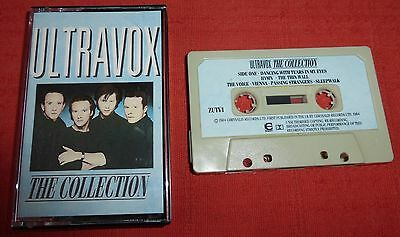Ultravox - Uk Chrome Cassette Tape - The Collection (Best Of/greatest Hits)