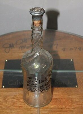 Vintage Jack Daniels Bicentennial 1796-1996 Whiskey Bottle Decanter Cork Top
