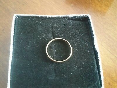 10k Yellow Gold Baby Ring Size 0