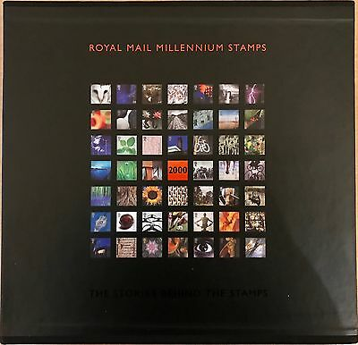 2000 Royal Mail Millenium Stamps Year Book. The Stories Behind Stamps.