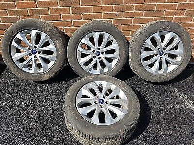 "Ford Kuga 17"" Alloy Wheels And Tyres X 4"