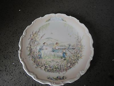 Royal Albert Wind In The Willows Plate  Portleys Return