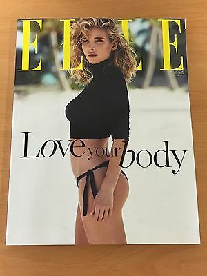 Elsa Pataky Subscriber Cover Elle Spain May 2017 Body Issue Fast And Furious