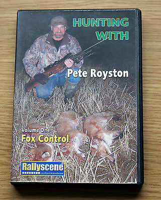 DVD Hunting with Pete Royston Fox Control Volume one, lamping Shooting Foxing