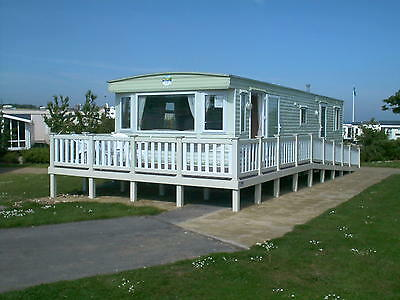 PRESTIGE CARAVAN WITH WHEELCHAIR ACCESS @ HAVEN HOLIDAY REIGHTON SANDS 15thSEPT