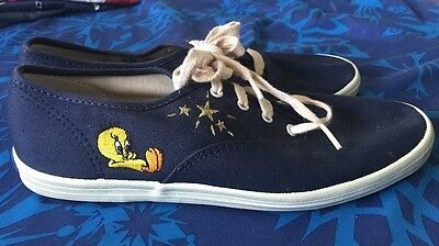Tweety Bird Keds Rare Vintage 1993 Womens Shoes Looney Tunes Size 7.5