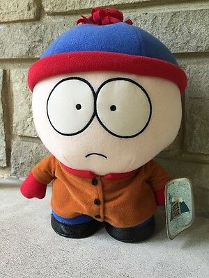 "New 10""  Fun 4 All Court SOUTH PARK STAN Plush Toy Doll With tags 1998"