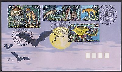 Australia  1997 Creatures Of The Night Fdc