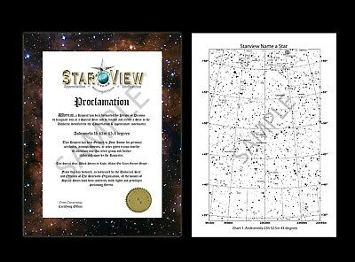 Starview Name A Star. Unique Gift For Any Occasion (see Item description)