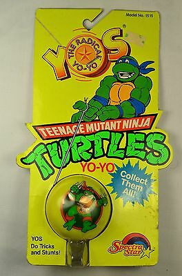 Vintage YOS Teenage Mutant Ninja Turtles Yo-Yo No. 1515 Spectra Star New