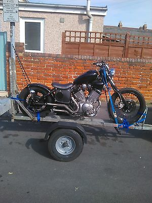 Motorcycle Motorbike Bike Trailer Hire
