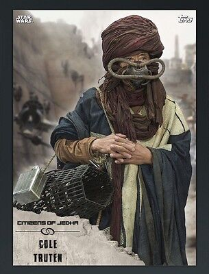 TOPPS Digital Star Wars Card Trader: Rogue One: Citizens of Jedha! Cole Truten