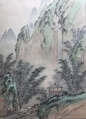 Chinese Painting - Hand Painted, Artist Signed and Sealed, Framed w/ Glass