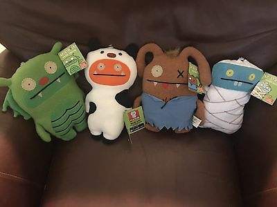 Lot of 4 Large Ugly Dolls - All new with tag - All very popular