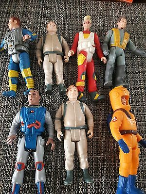 7 1980s ghostbusters figures